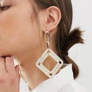 NWT FP statement boho earrings